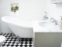 Badrummet till rum Brita och Pigkammaren
